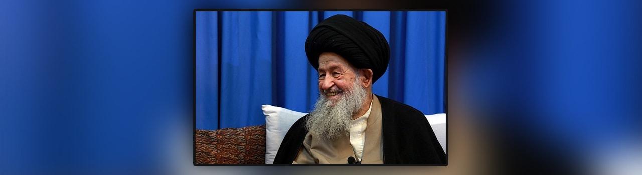 دیدار دکتر سلطانی و مدیران صندوق کریمه با مرجع عالیقدر آیتالله علوی گرگانی