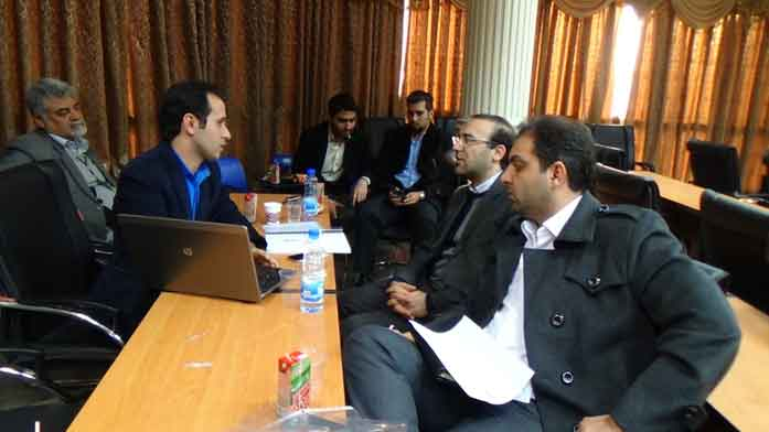 جلسه ارزیابی شرکتهای دانش بنیان استان قم